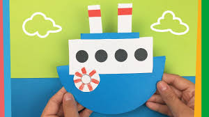 how to make a boat easy diy tutorial for kids youtube