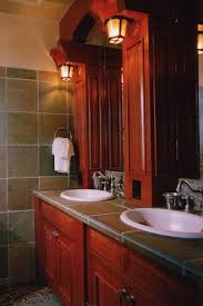 Tile Bathroom Countertop Ideas Colors 27 Best Tile Countertops Images On Pinterest Bathroom Ideas