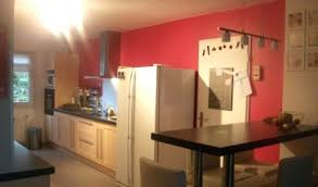 mur cuisine framboise mur cuisine framboise quelles couleurs choisir sur les murs mur