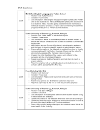 Ksa Resume Examples by Resume Tiong Kung Yao
