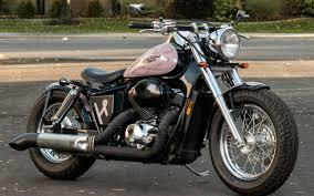 classic honda honda shadow ace 750 american classic edition blue collar bobbers