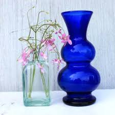 Vases Wholesale Bulk Blue Glass Vases U2013 Affordinsurrates Com