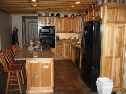 Knotty Hickory Kitchen Cabinets by Hickory Kitchen Cabinets Cheap Kitchen Design