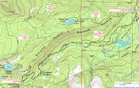 map of oregon dunes national recreation area topographic map of the bierstadt lake trail rocky mountain