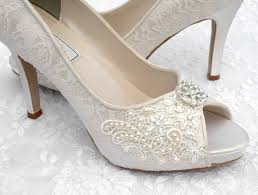 wedding shoes ideas lovely ivory low heel bridal shoes combined