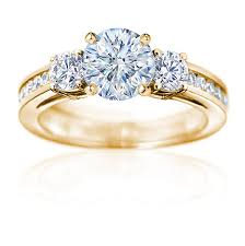 gold diamond rings the beauty discovered in gold engagement rings cherry