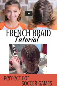 cute girl hairstyles how to french braid cute girls hairstyles tutorial this double french braid is perfect
