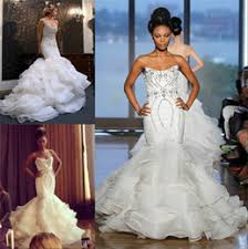 ines di santo wedding dresses wedding gowns sparkly organza canada best selling wedding gowns
