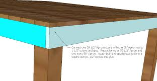 Diy Counter Height Table Ana White Pub Counter Height Table Seats 8 Diy Projects
