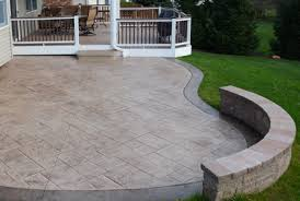 Cost Of Stamped Concrete Patio by Stamped Concrete Patio Cost Ideas U0026 2017 Photos