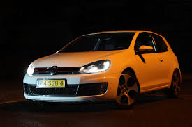 orange volkswagen gti tjerk tack photography