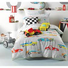 linenhouse hiccups fast lane multi boys car theme bedlinen