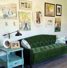 sofa green tufted sofa stylish emerald green tufted sofa