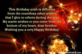 this birthday wish is different from birthday wishes for