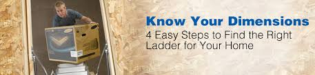 know your werner attic ladder dimensions