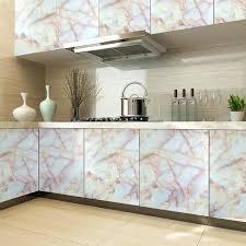 autocollant pour armoire de cuisine papier deco meuble kinloar 5m061m papier peint auto adhacsif marbre