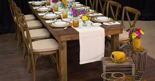 Table And Chair Rentals Houston by Rustic Banquet Tablescape U2013 Dallas Peerless Events And Tents