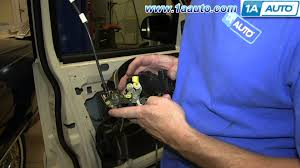 door ajar 2002 ford explorer how to install replace power door lock actuator 2002 05 mercury