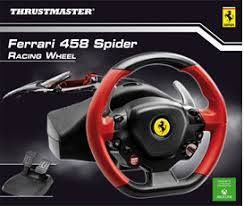 volante per xbox one thrustmaster 458 spider racing wheel for xbox one gamestop