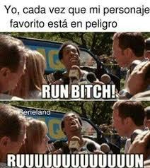 Run Bitch Run Meme - run bitch cosas de un lector pinterest