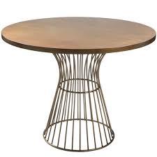 Mid Century Bistro Table Inkivy Mercer Bistro Table Bronze See Below Kitchen