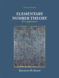 elementary number theory 6th edition kenneth h rosen prime