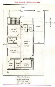 maps3north facing 40x60 feet plan vastu pinterest house
