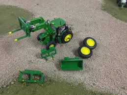 loader tractors and attachments heartland custom farm toys