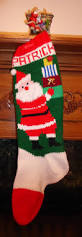 knitted christmas stocking pattern gifts by knittedxmasstockings