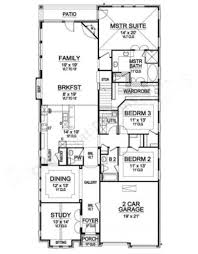 narrow house plans with garage granite way narrow house plans luxury house plans