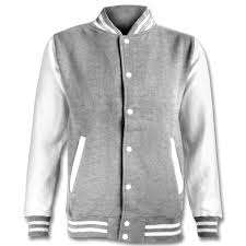 design your own personalised printed or embroidered varsity jacket