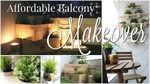 home tour affordable balcony makeover u0026 decor hacks for a small