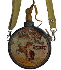 cowboy canteen ornament rodeo cowboys and rodeo