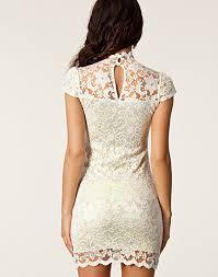style lace dress lili london cream party dresses clothing