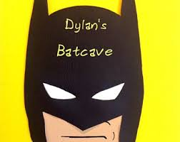 Batman Room Decor Batman Room Decor Etsy