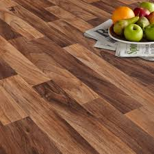 arezzo walnut effect matt vinyl flooring 6 m departments diy