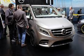 Modified A Class Mercedes Concept V Ision E Is A 328hp Mercedes Benz V Class Plug In Hybrid
