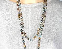 etsy beads necklace images Long beaded necklace etsy jpg