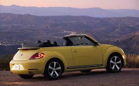 yellow volkswagen convertible volkswagen beetle convertible 2013 widescreen exotic car