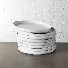 frank bauhaus dinner plate set cb2