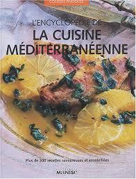 livre de cuisine gratuit pdf amazon fr l encyclopédie de la cuisine méditerranéenne