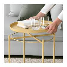 les de table ikea gladom tray table light yellow trays lights and living rooms