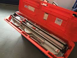 tile cutter manual 600mm capacity plantool hire centres