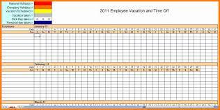 Excel Employee Schedule Template 11 Excel Employee Schedule Template Monthly Ledger Paper