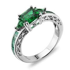 topaz gemstone rings images Emerald topaz gemstone jewelry fashion 925 sterling silver wedding jpg