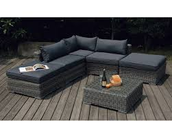 canapé jardin résine canape jardin resine chaise exterieur pas cher maisondours