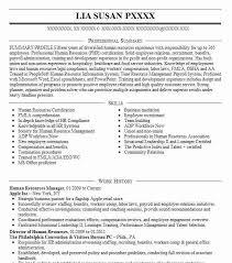 download human resource resume haadyaooverbayresort com