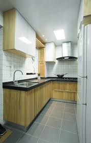modern and traditional kitchen small chinese apartment mixes modern and traditional elements