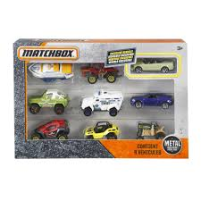 matchbox cars matchbox 9 car gift pack styles may vary walmart com