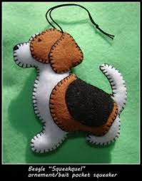 free felt animal patterns these ornaments are crafted in